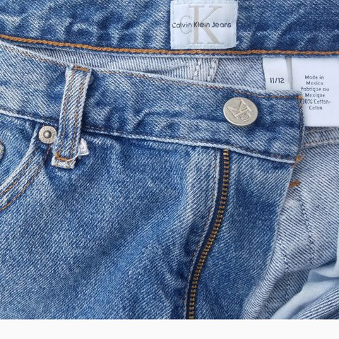 f57d769d Original Calvin Klein jeans Size 11/12 Made in Mexico 100% - Depop