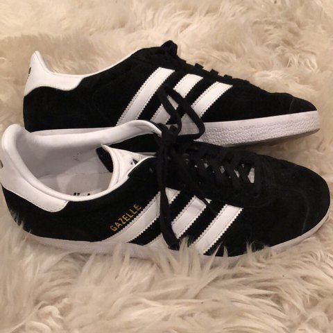size 40 bdcfc c111f  k hwang. last year. Fort Worth, United States. Black Adidas Gazelle  Sneakers Size 8.5. Purchased from  urbanoutfitters.