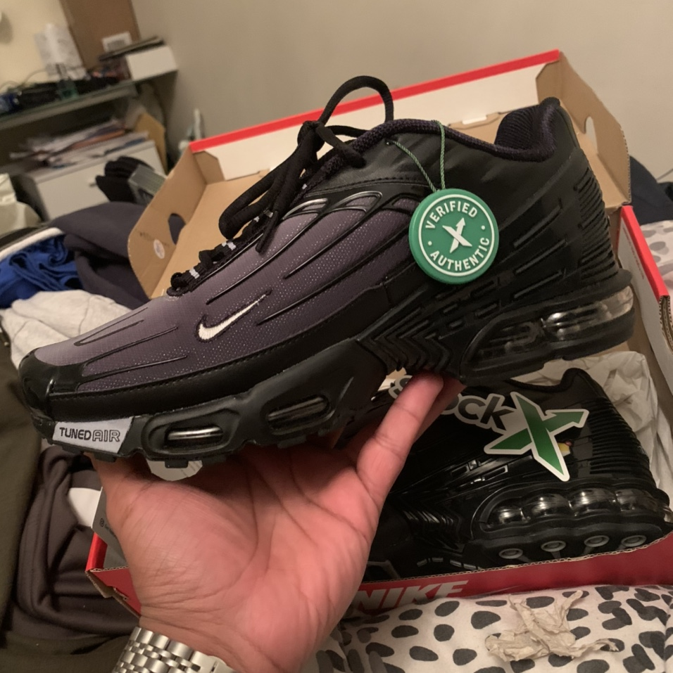 Nike Air Max Plus 3 Tuned 3 In Wolf Grey Stock Depop