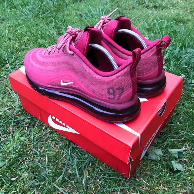 Nike Air Max 97 Hyperfuse Red. Size 8.5 Depop