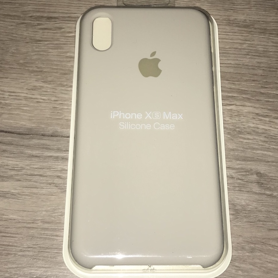 iphone xs silicon case stone
