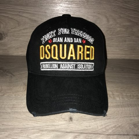 "6f252b8c619a55 🇨🇦 🇨🇦 DSQUARED CAP // ""KILLERS ON THE LOOSE"" ""FIGHT FOR - Depop"