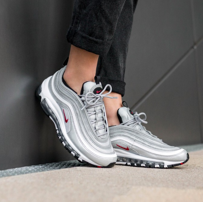 sports shoes 61a91 97387 Nike Air Max 97 OG QS Silver Bullet Brand new with... - Depop