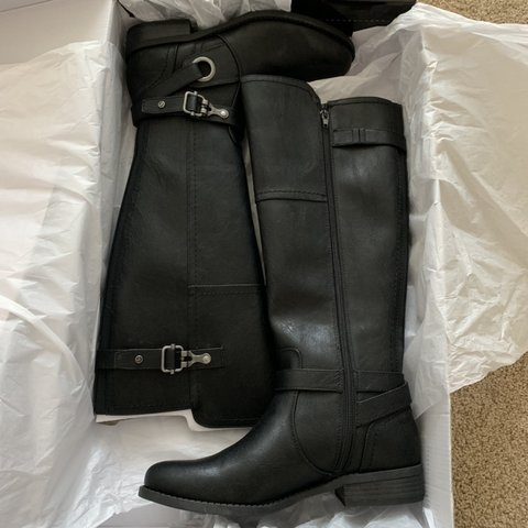 Black G By Guess Harvest Riding Boots Size 85 And Depop