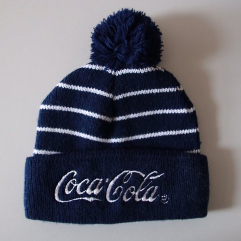 Original Coca Cola Beanie Bobble hat Winter hat or whatever - Depop 0aa08ff8b54