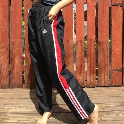 442be91b2 @_lemai. last year. Allen, United States. VINTAGE ADIDAS TRACK PANTS FROM  THE 90S!!