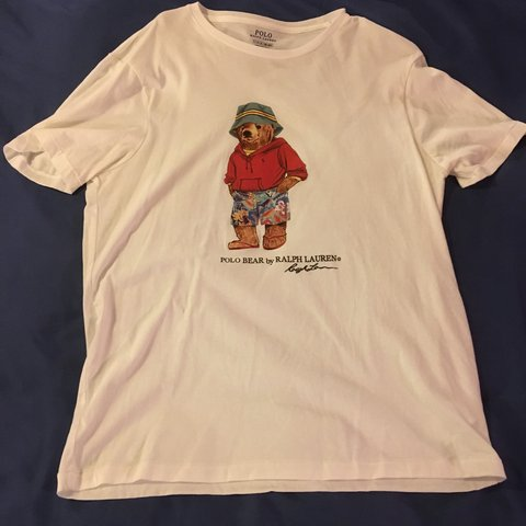 42674ea44 @bengross713. last year. Sevierville, United States. Pair of Polo Bear tees  from Ralph Lauren.