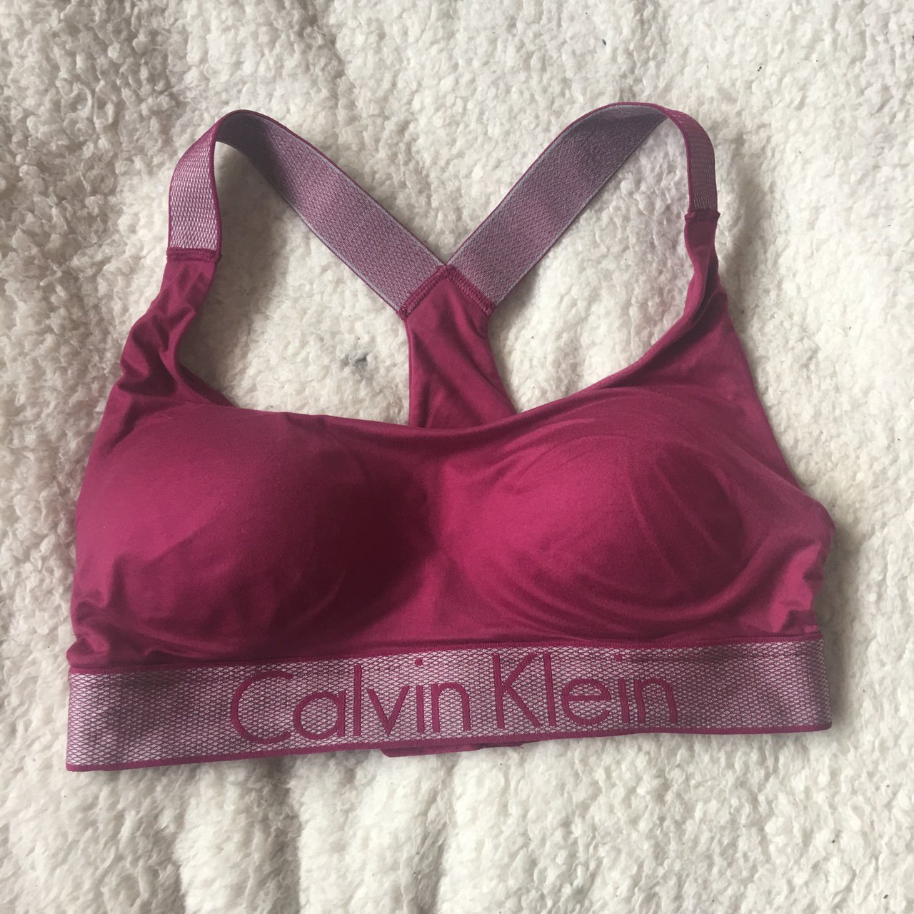 ee12c313ead0 @leah14. 10 months ago. United Kingdom. Calvin Klein bra new without tags  in amazing condition as never been worn ...