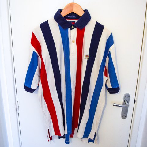 ce32ac92ff @theessexdispensary. 10 months ago. Romford, GB. Vintage 90s Tommy Hilfiger  polo shirt ...