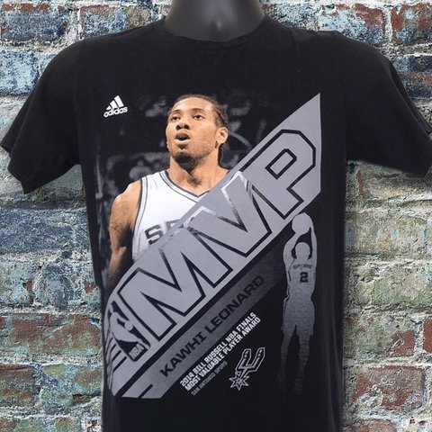 afa87276b18 Adidas NBA MVP Kawhi Leonard Graphic Short Sleeve Clothing - - Depop