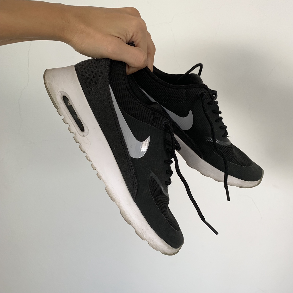 Nike Black Air Max Thea Sneakers Trainers Size Depop