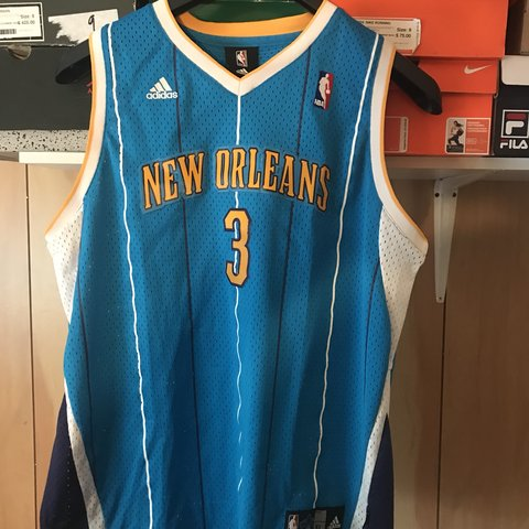 d7d2525ff VINTAGE CHRIS PAUL NBA JERSEY NEW ORLEANS HORNETS SIZE  XL - Depop