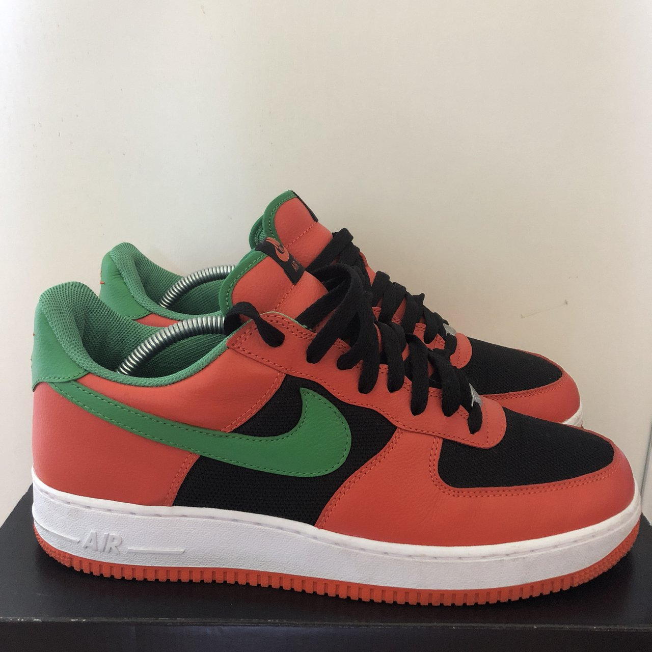 Nike Air Force 1 Low Carnival Orange From the 2017 Box + - Depop ce98479c64