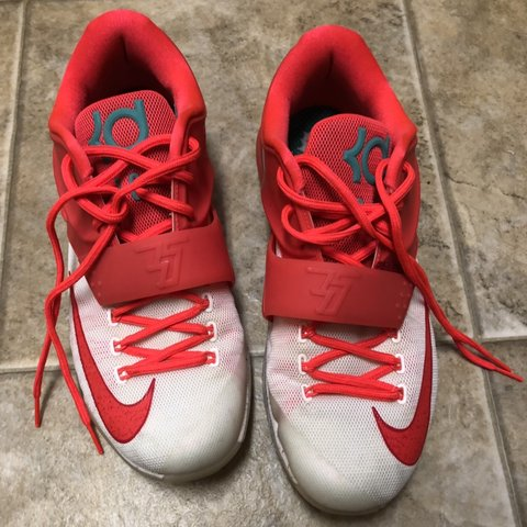 ed57871056c Nike KD 7 EGG NOG SIZE 10 and USA 7.5 10 condition Will ship - Depop