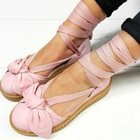c2ede5058561 Fenty x Puma Creeper Bow Sandal NWT One of the hottest in a - Depop