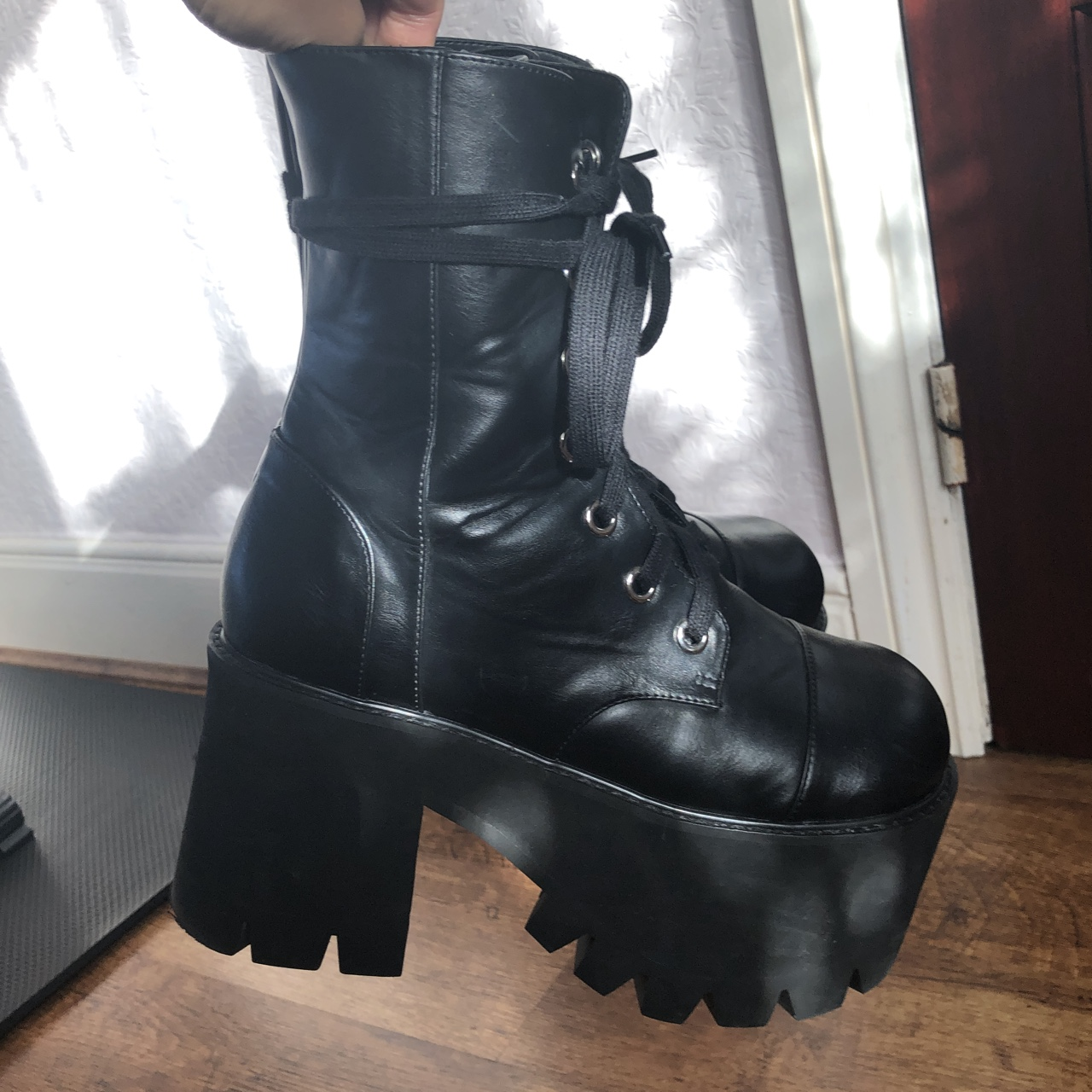 """4cb5b620cae Current Mood """"Reality Bytes"""" platform boots From... - Depop"""