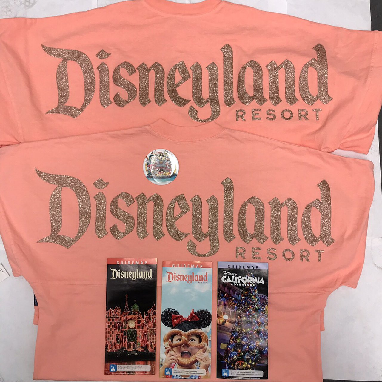 "DISNEYLAND (2018) ""ROSE GOLD"" SPIRIT.  80.83. Disney Mickey Mouse black  sweater 64eb2e9e29f0"