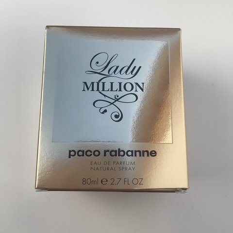 Lady One Million Perfume 80 Ml Paco Rabanne Never At Depop