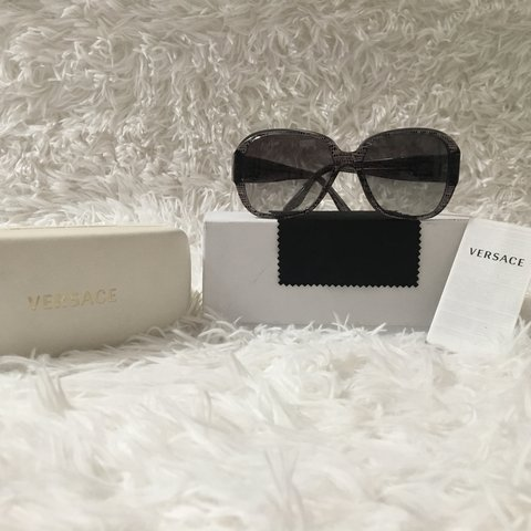 e13a69fd1b0f 100% Authentic Versace Sunglasses Includes (all box ☑ care - Depop