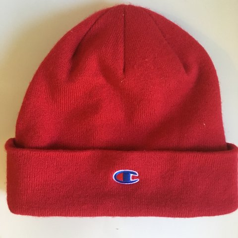 eacb93bdd63be Urban outfitters red champion hat