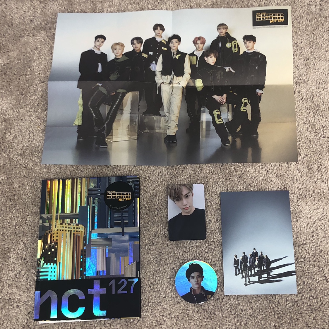 NCT 127 We Are Superhuman album *MESSAGE ME IF YOU