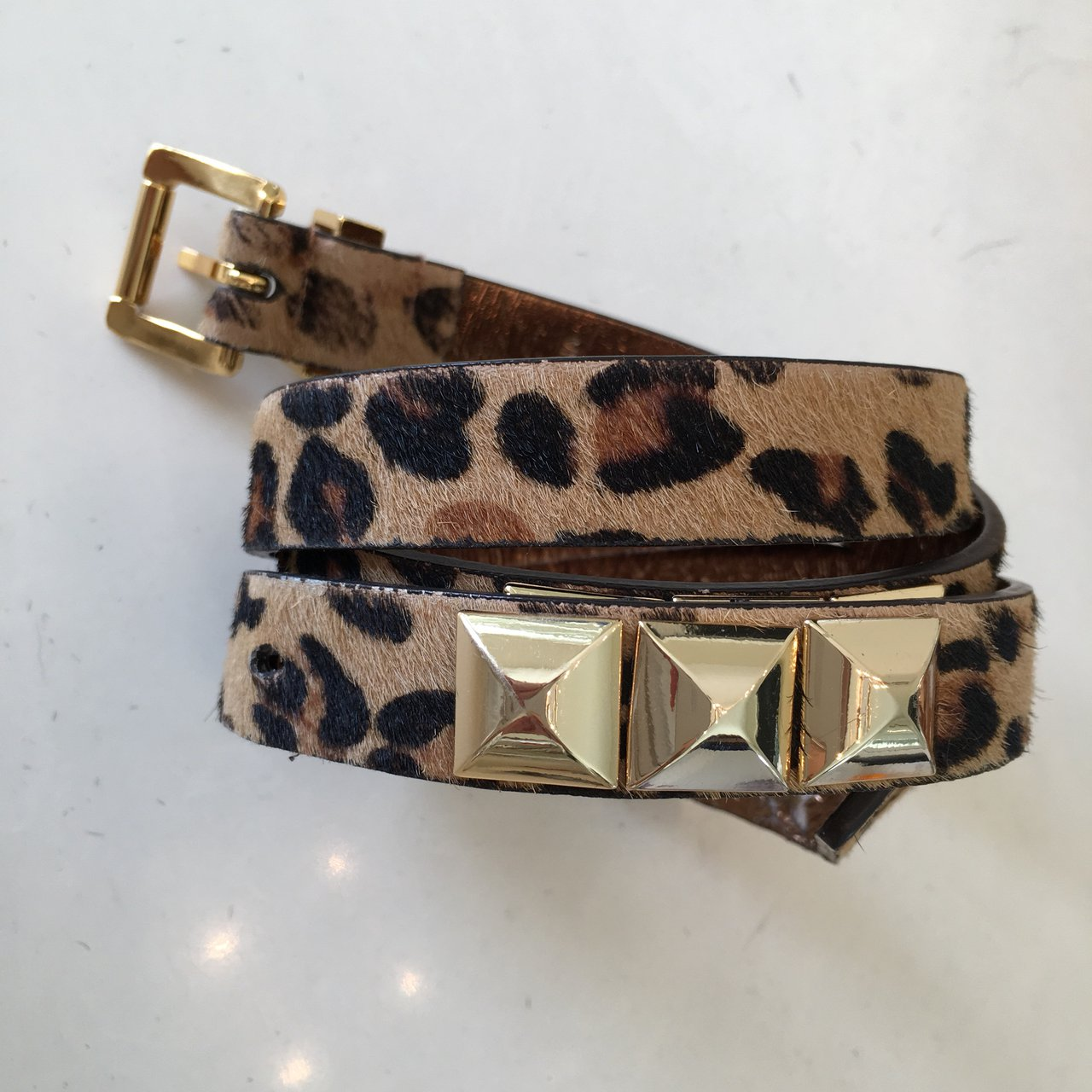 8f24abe598fc04 ... cheap frommyclosettoyou. last year. coppell united states. michael kors  leopard print belt b8e02