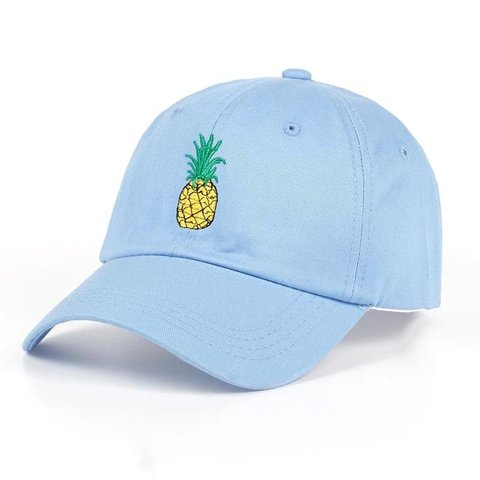 1ec1e1ed1bb49 🌟NEW IN STOCK!!🌟 💥 Embroidery Pineapple Cap 💥 Available - Depop
