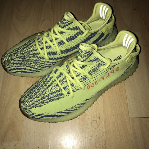 7f20d6356979a Adidas yeezy boost 350 v2 semi frozen yellow. Brand new or - Depop