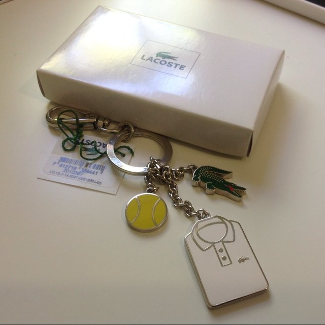 2c8f9e650 Brand new Lacoste keyring with tags. Genuine priced at £40. - Depop