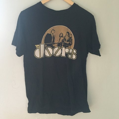 "e0b9b916bcb Black Vintage Vinyl ""The Doors"" t-shirt"