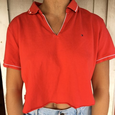 09038a5273e2e  isabelleknopf. 3 months ago. United States. Tommy Hilfiger red crop ...