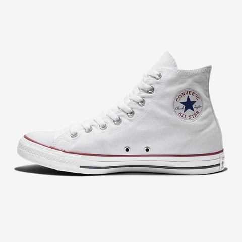19eed516b494 Ladies white converse Size 5 Good condition but will be - Depop