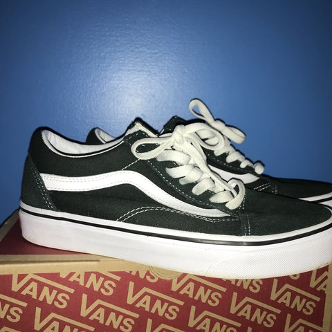 forest green swede old skool vans. like new condition ffb6034d09