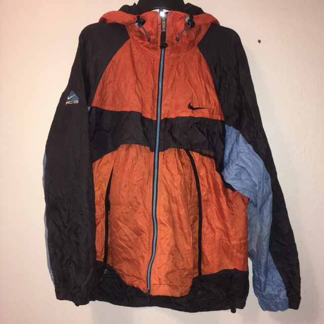 nike blue and orange jacket low cost