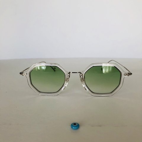 86f9fef5abf24  vintagegaze. 3 hours ago. United States. Vintage sunglasses • round retro  glasses • small Transparent frame ...
