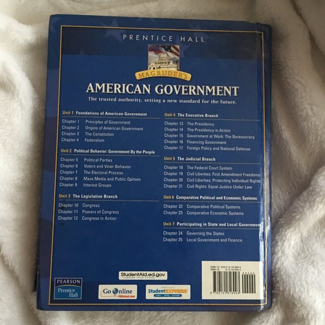 Magruder S American Government Textbook By Depop