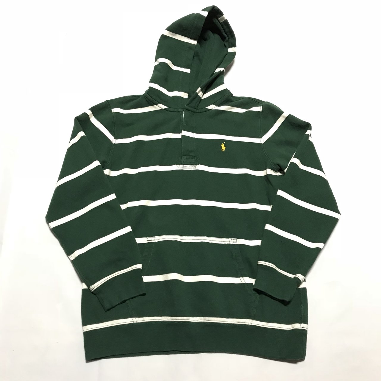 Polo Ralph Lauren striped rugby hoodie 24fe8cdef