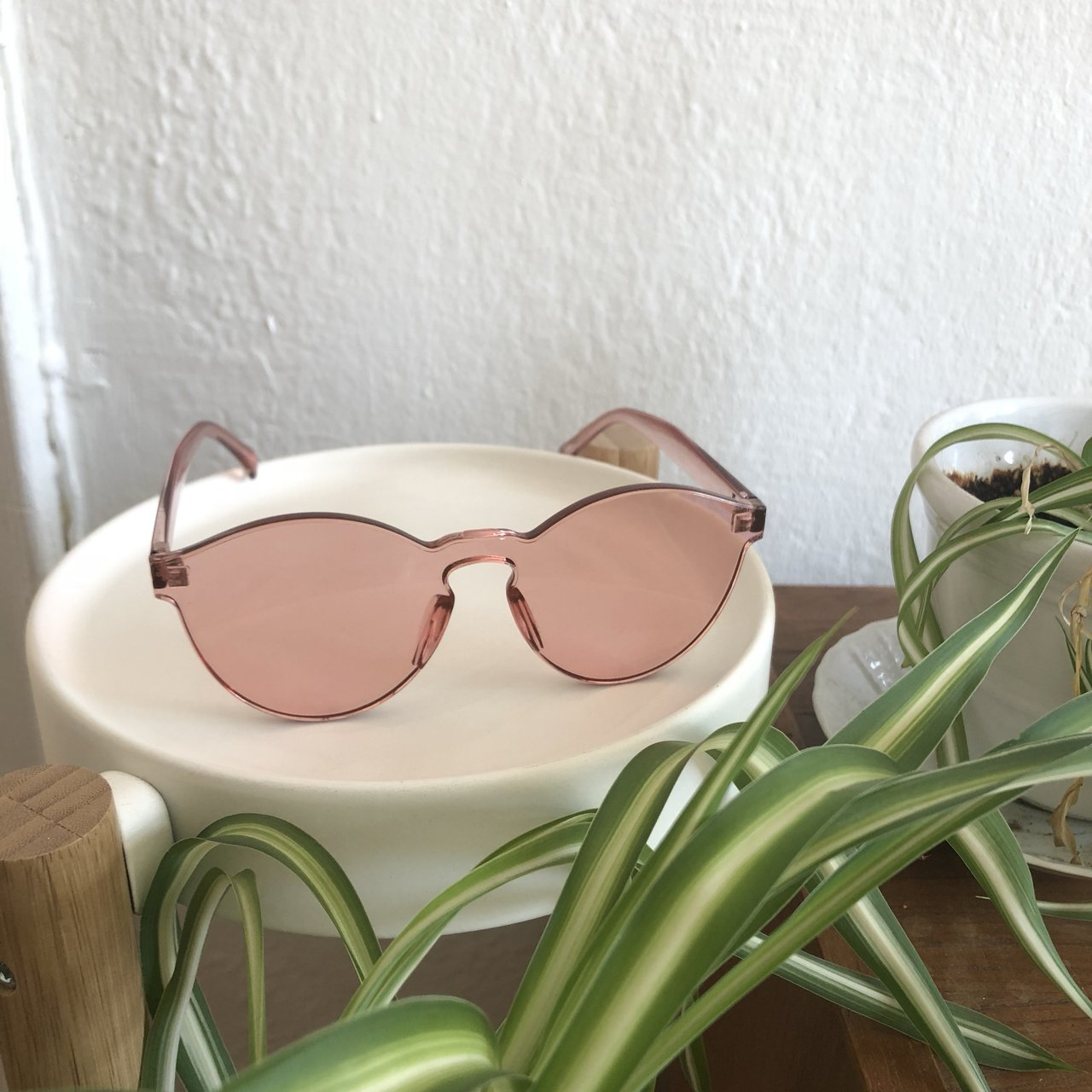 d0dca85572b See the world through rose colored glasses...literally super - Depop
