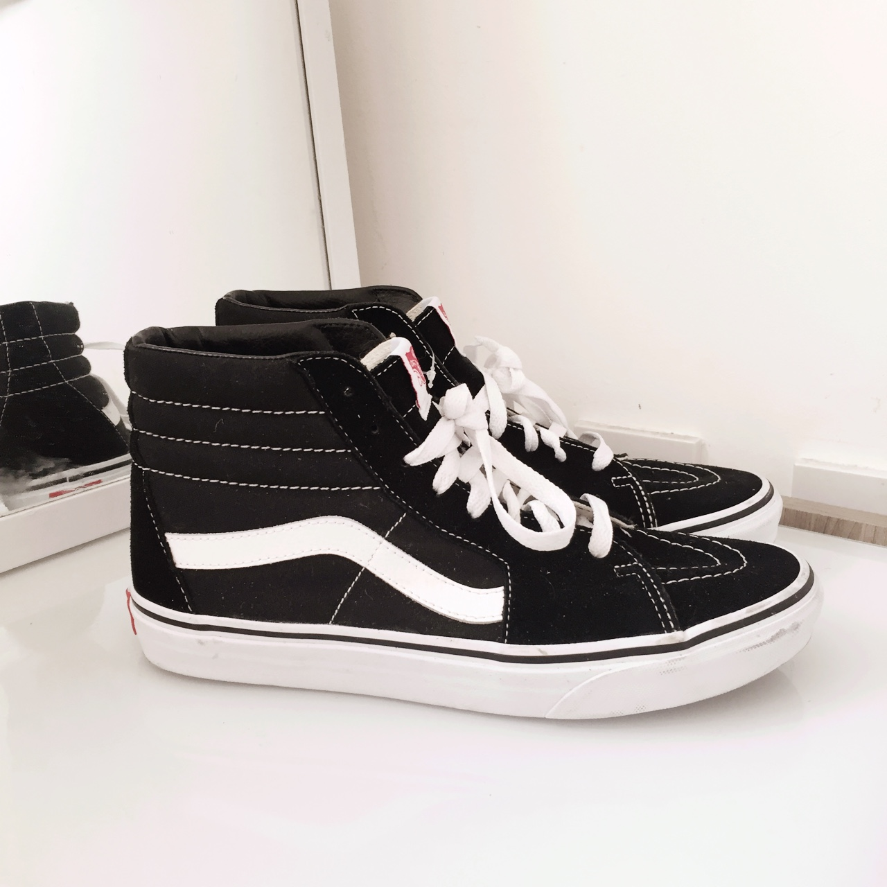Vans Old Skool High Top Trainers, Black