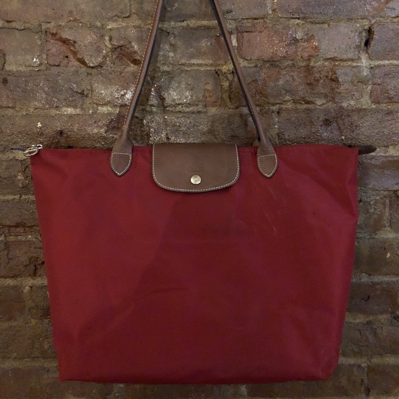 Longchamp Le Pliage Medium Tote Pre love and in great - Depop 122d325ad01d8