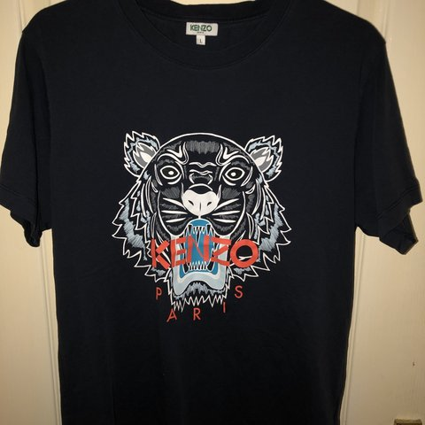 565d52f5 @alex_jay15. last month. Manchester, United Kingdom. Kenzo Paris - Tiger T- Shirt (Navy Blue)