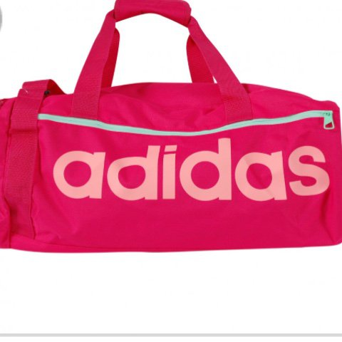 Pink Adidas sports bag! The perfect gym bag! Nearly new- to - Depop b86a4e7bdb5ab