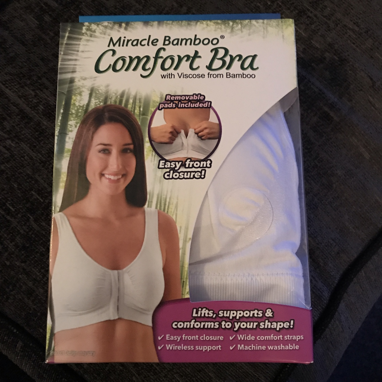 Miracle Bamboo Comfort Bra with Viscose from Bamboo by JML