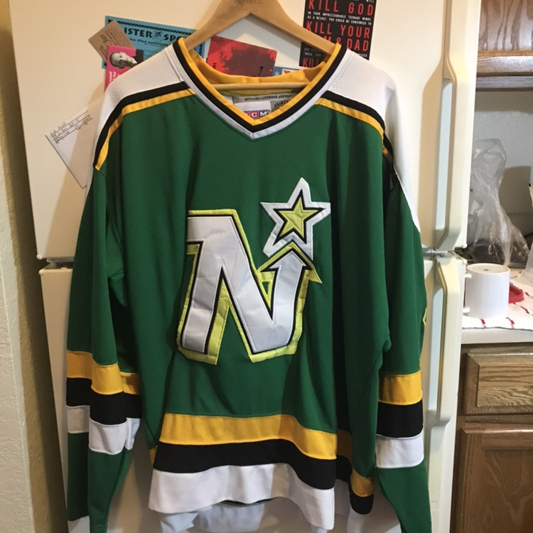 huge selection of 7be16 3a0fd Vintage throwback Mike Modano jersey. This is from... - Depop