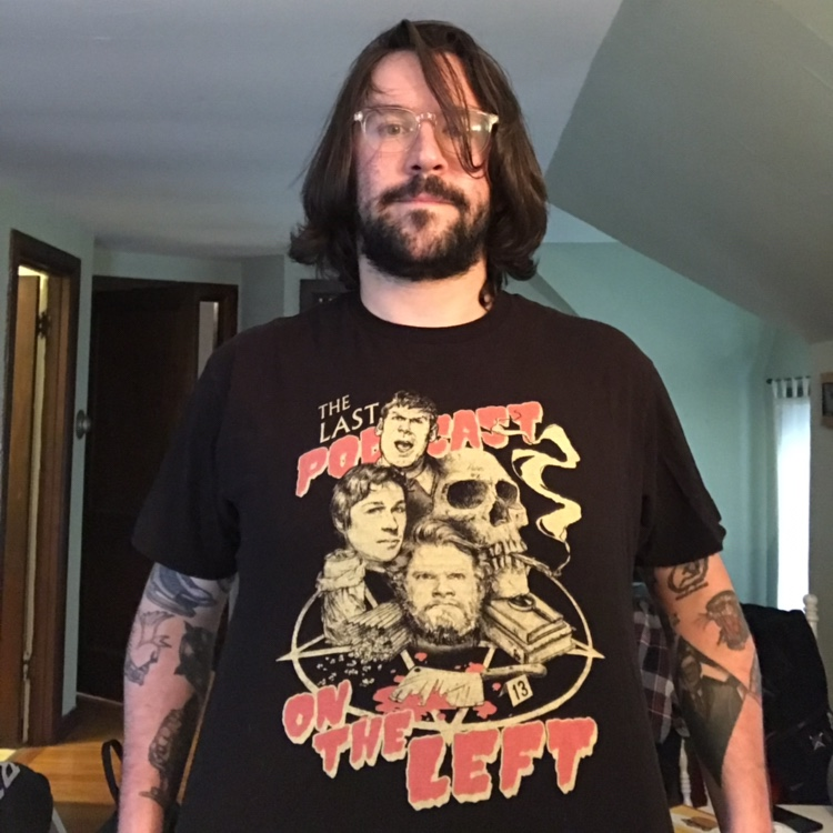 Last Podcast On The Left Shirt Features The Faces Depop Welcome to the last podcast on the left, i am ben kissel, that's marcus parks and he's henry zebrowski. last podcast on the left shirt