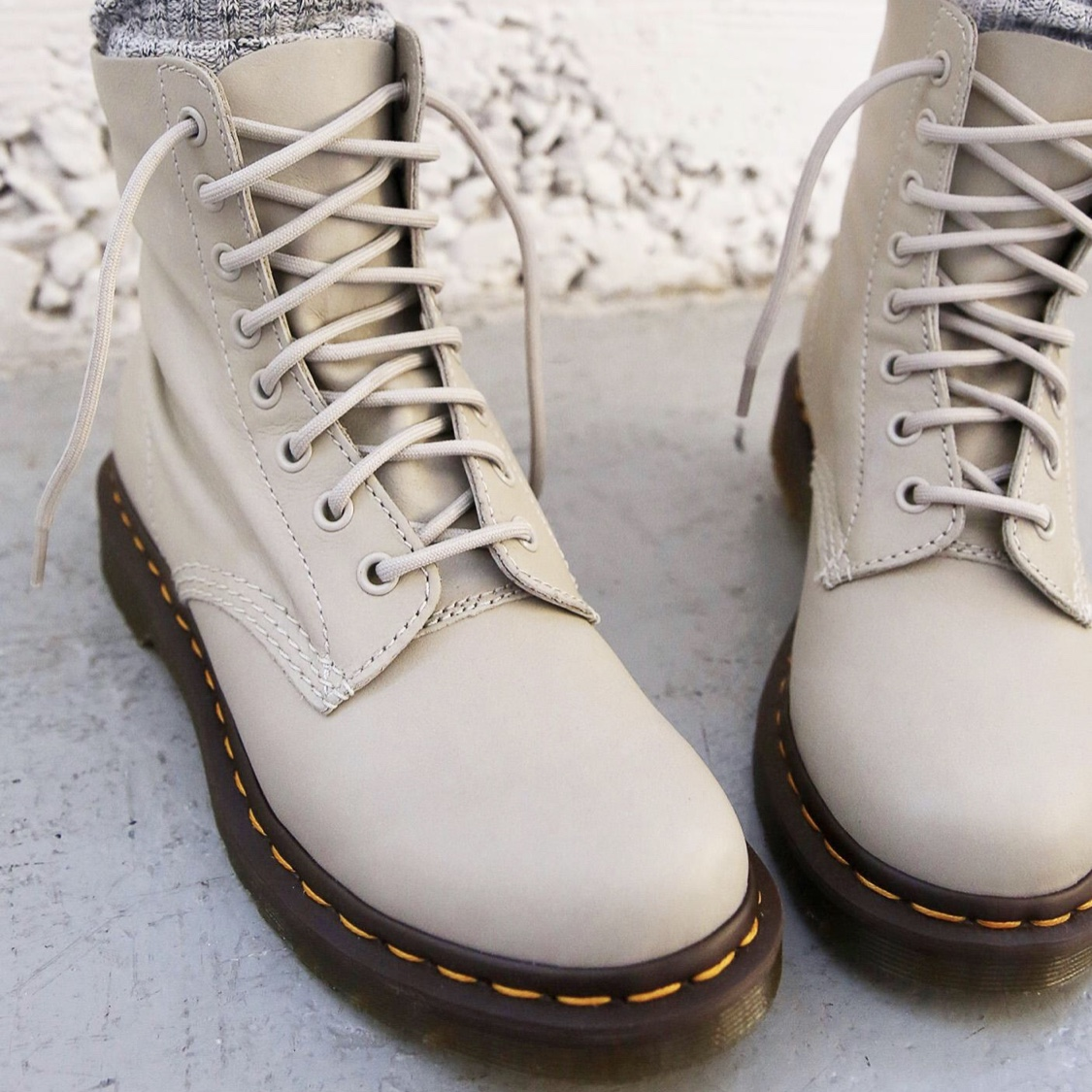 Dr doc martens leather pascal boots