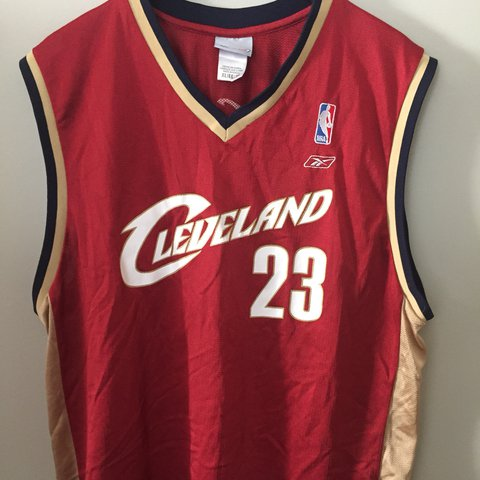 4b5c0ab7d ... where to buy reebok cleveland cavaliers 23 lebron james . vintage jersey  depop 08d44 18e9b