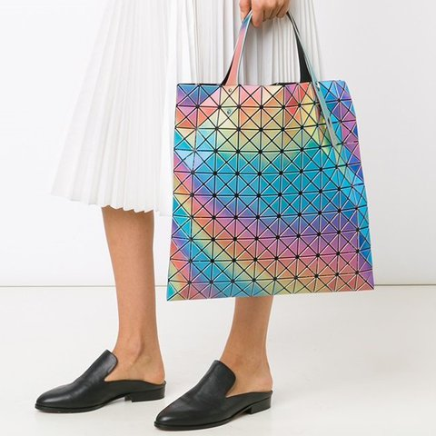 Authentic Issey Miyake Rainbow Prism Bao Bao bag RRP £350 in - Depop b2c10e5be20ad