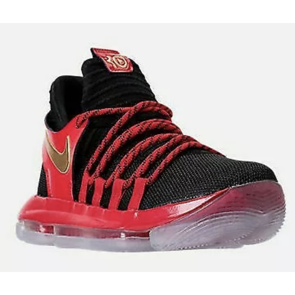 outlet store fbaa0 dc889 New Nike Zoom KD X LE 10 Black University Red... - Depop