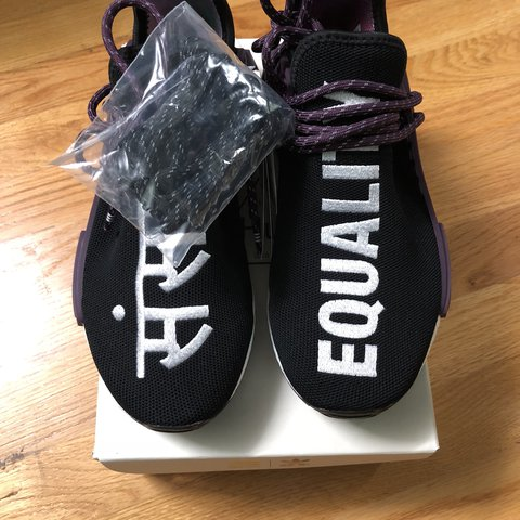 f091ed9bd DSWT Human Race Pharrell Black Purple Sz 5.5 Men 100% Will - Depop